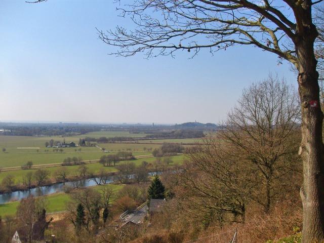 Blick auf Siegburg und den Michaelsberg