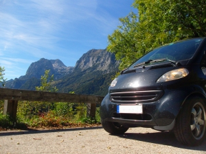 Smart im Berchtesgadener Land