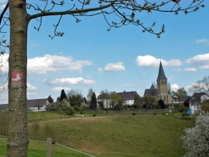Die Wallfahrtskirche im Blick
