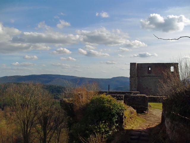 Die Ruine Lindelbrunn