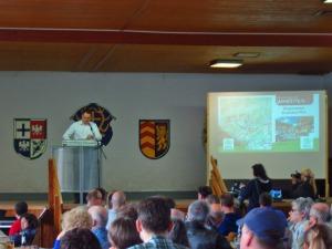 Dr. Achim Schloemer bei der Ansprache
