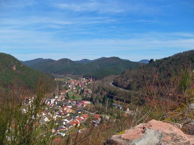 Blick von der Falkenburg