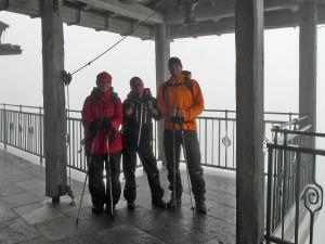 Stefanie, ich und Jens