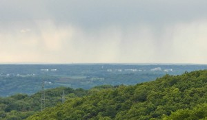 Blick auf den Heiderhof oberhalb von Bad Godesberg