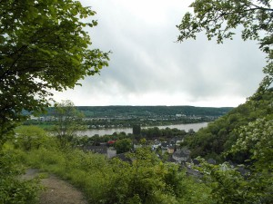 Blick auf Kasbach und Remagen