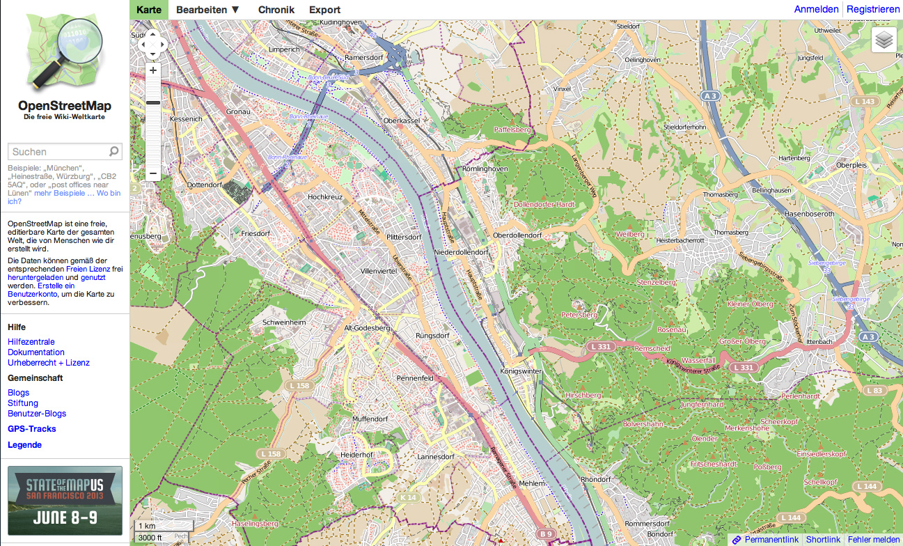 Gpsies Karte.Hinter Den Kulissen Was Sind Openstreetmap Karten Und Wie Werden