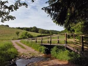 Brücke über die Furt