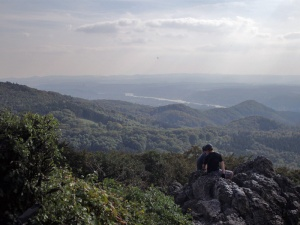 Blick vom Ölberg ins Rheintal
