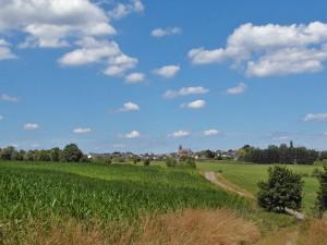 Ein Dorf im Blick