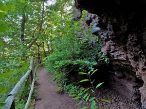 Höhlen wollen erkundet werden