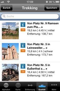 Touren-App-Trekking