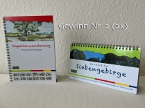 Nr. 2 (gibt es 2x) Wanderfibel Siebengebirge & Kapellenwanderweg
