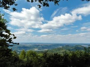 Aussichtspunkt unterhalb der Löwenburg