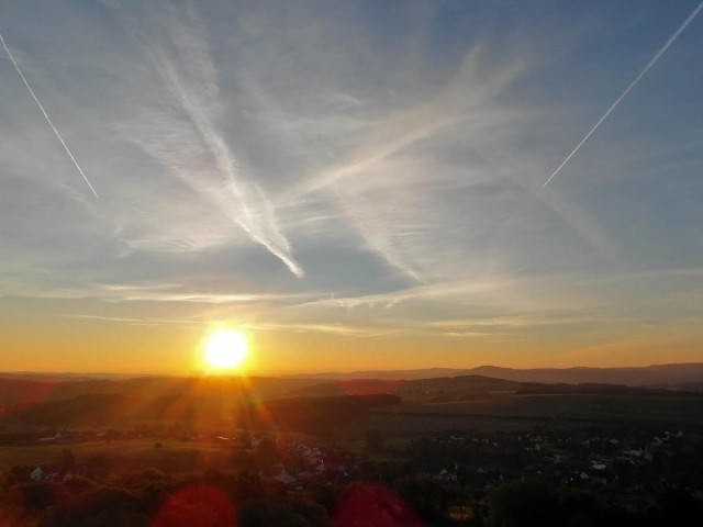 Sonnenaufgang über Boos