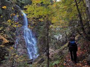 Wasserfall im Hölltal