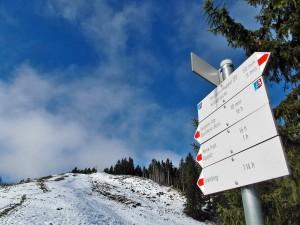 Schnee - und zwar reichlich