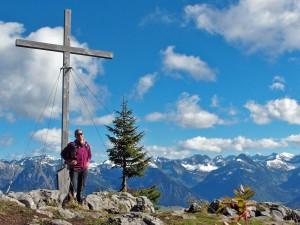 Der Gipfel gehört mir ganz allein :-)