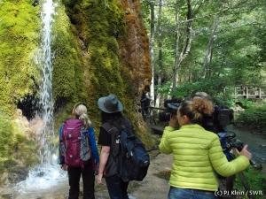 Geräuschkulisse am Wasserfall