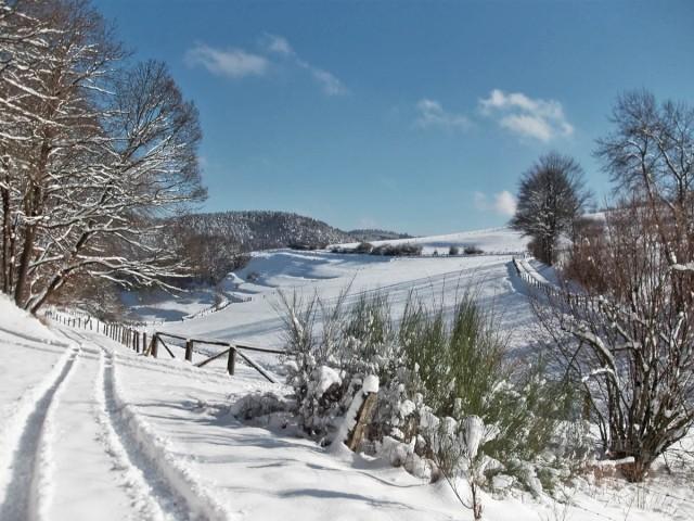 Winterlandschaft wie sie sein soll...
