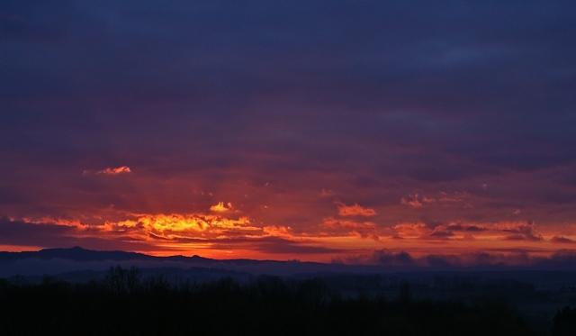 Sonnenaufgang Dez 2012