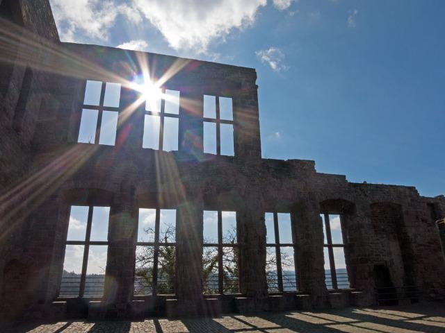 Auf der Burg Nideggen