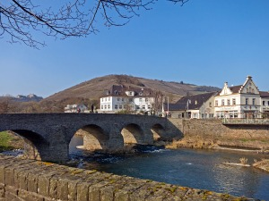 St. Nepomuk Brücke in Rech