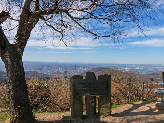Der Blick nach Bonn