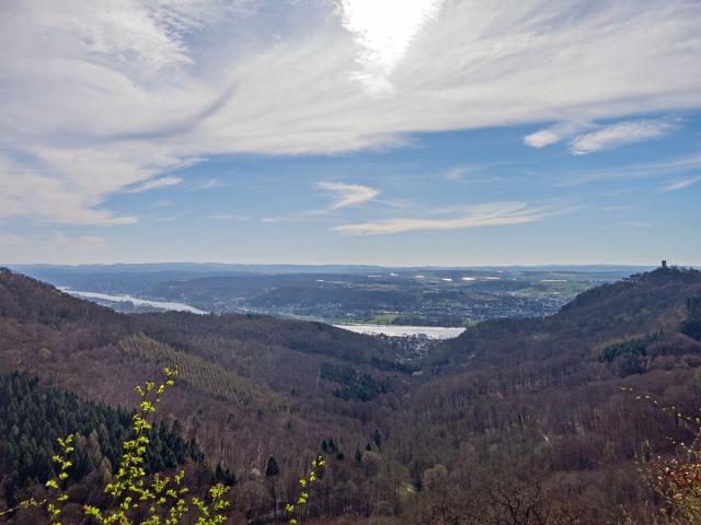 Aussicht vom Gleisberg