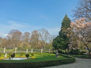 Blick in Richtung Stadtgarten