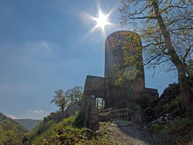 Die Ruine Stahlberg