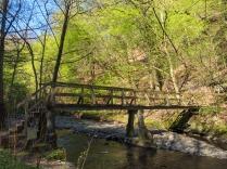 Eine von zahlreichen Brücken