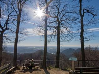 Drei-Seen-Blick am Lohrberg
