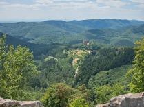 Fleckenstein in Sichtweite