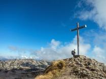 Gipfelkreuz am Hahnenköpfle