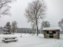 Die Hütte am Bocksvenn