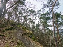 Ein herrlicher Abschnitt über die Felsen...