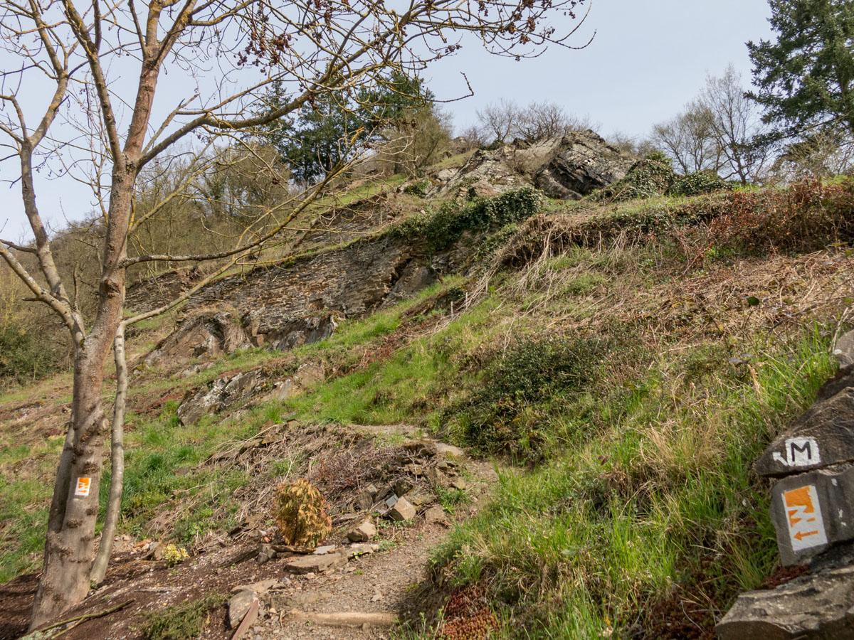Klettersteig Mosel : Der hatzenporter laysteig klettersteig rabenlay an mosel