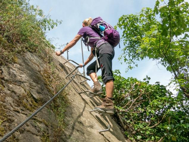 Klettersteigset Leihen : Der mittelrhein klettersteig in boppard wandernbonn.de