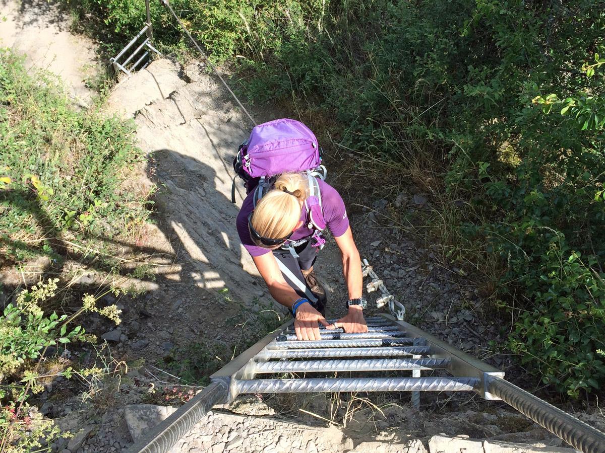 Klettersteig Set Ausgelöst : Der mittelrhein klettersteig in boppard wandernbonn